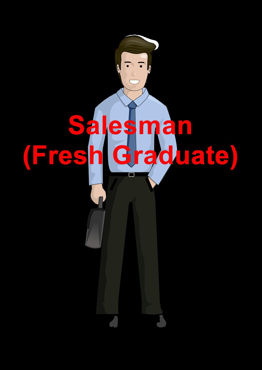 Contoh Application Letter Untuk Salesman (Fresh Graduate)