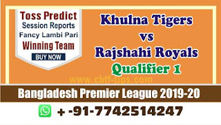cricket prediction 100 win tips Khulna vs Rajshahi