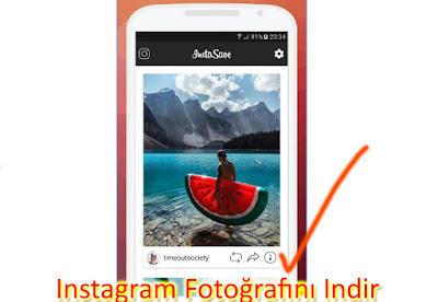 instagram fotoğraf indirme android ios