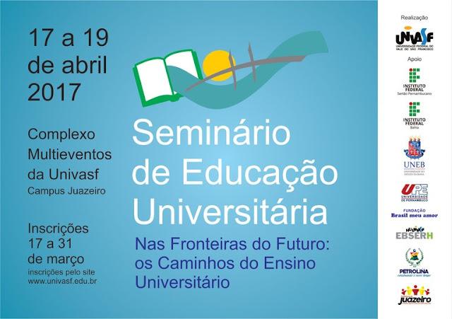 SEMINÁRIO DE EDUCAÇÃO UNIVERSITÁRIA