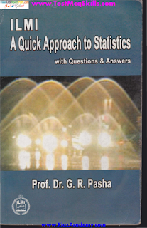 A Quick Approach to Statistics by Dr. G R Pasha