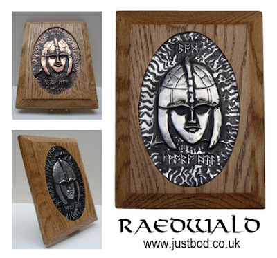 Raedwald hand sculpted wall plaque