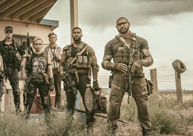 """Primeira imagem de """"Army of the Dead"""" revela o elenco do apocalipse zumbi de Zack Snyder"""