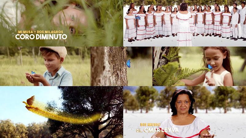 Coro Diminuto - ¨Mi Musa - Dos Milagros¨ - Videoclip / Dibujo Animado - Director: Omar Leyva. Portal Del Vídeo Clip Cubano