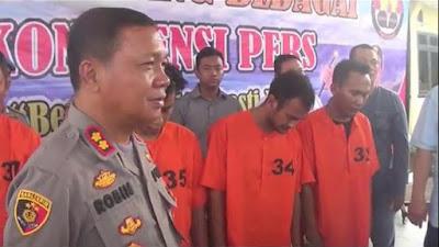 4 Perampok Bersenpi di Sumut Ditangkap, Salah Satunya Oknum Polisi Aktif!