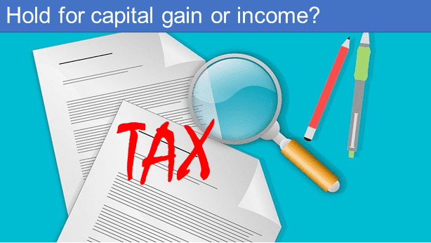 How long to hold for capital gains tax?