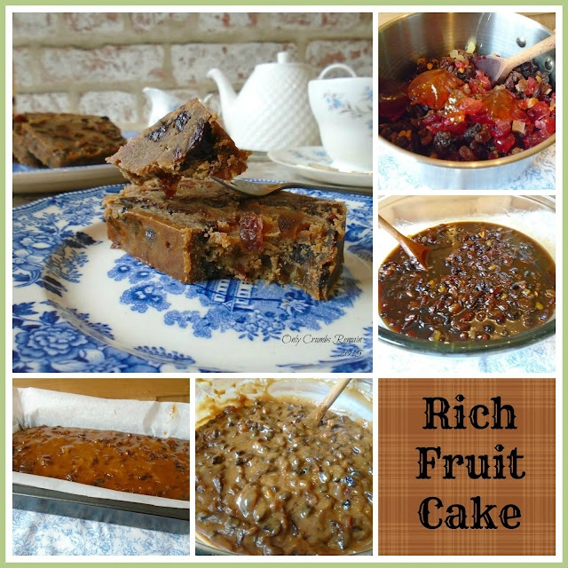 How to make Rich Fruit Cake