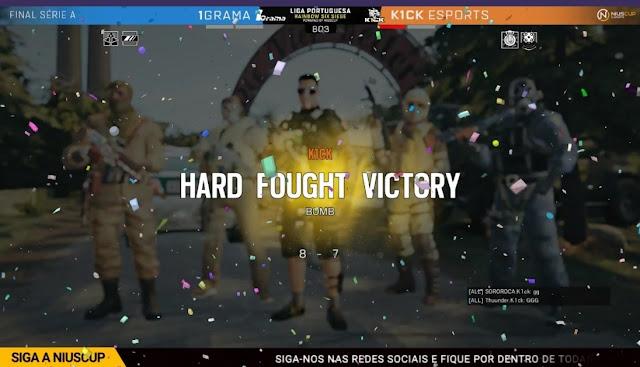 K1ck Campeões de Rainbow Six Siege