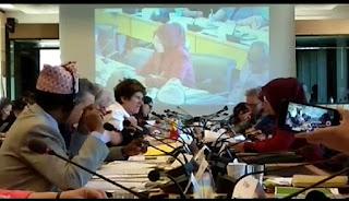 Kebijakan Ramah HAM, Bupati Faida Paparkan Kebijakan di PBB