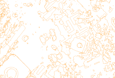 Contour shapefile