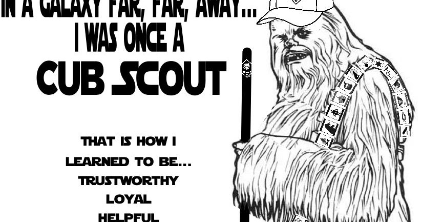 Akela 39 s Council Cub Scout Leader Training Chewbacca Was
