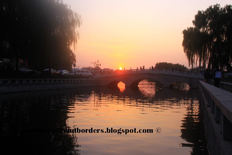Jingdingqiao Bridge, Qianhai, Beijing, China