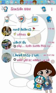 Download BBM MOD Doraemon Cute V2.9.0.51