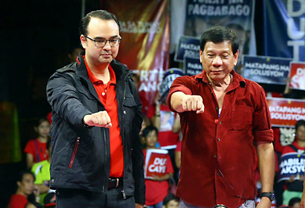 Cayetano over Digong's 'rape joke': Duterte a protector of women