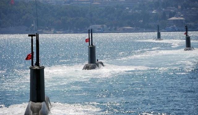 Οι Γερμανοί όχι μόνο θα παραδώσουν τα υποβρύχια στην Τουρκία, αλλά μας έχουν ενημερώσει και σχετικά