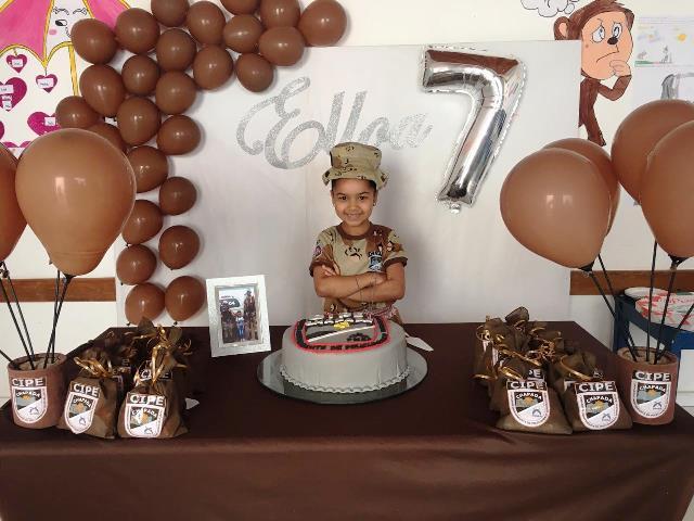 Cipe Chapada faz surpresa de aniversário para menina de 7 anos