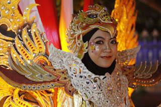 Model Kedua Pengiring Garuda Karya Karang Taruna Desa Losari