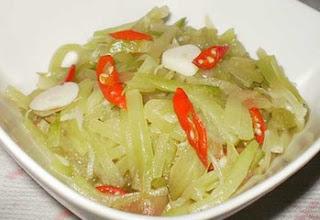 Resep Sayur Labu Siam