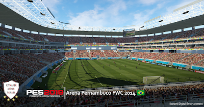 PES 2019 Stadium Arena Pernambuco FIFA World Cup 2014 by Arthur Torres