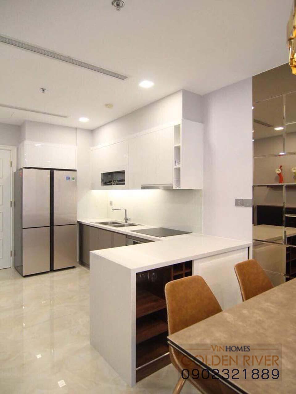 Bán căn hộ Vinhomes quận 1 tại cảng Ba Son 3 phòng ngủ nội thất cơ bản - hình 7