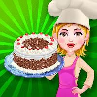 العاب طبخ كيك البندق-لعبة كعكة الغابة السوداء