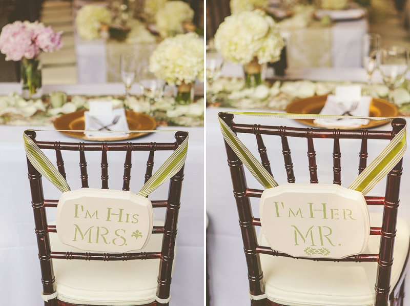The Awesometastic Bridal Blog Mr And Mrs Chair Decor