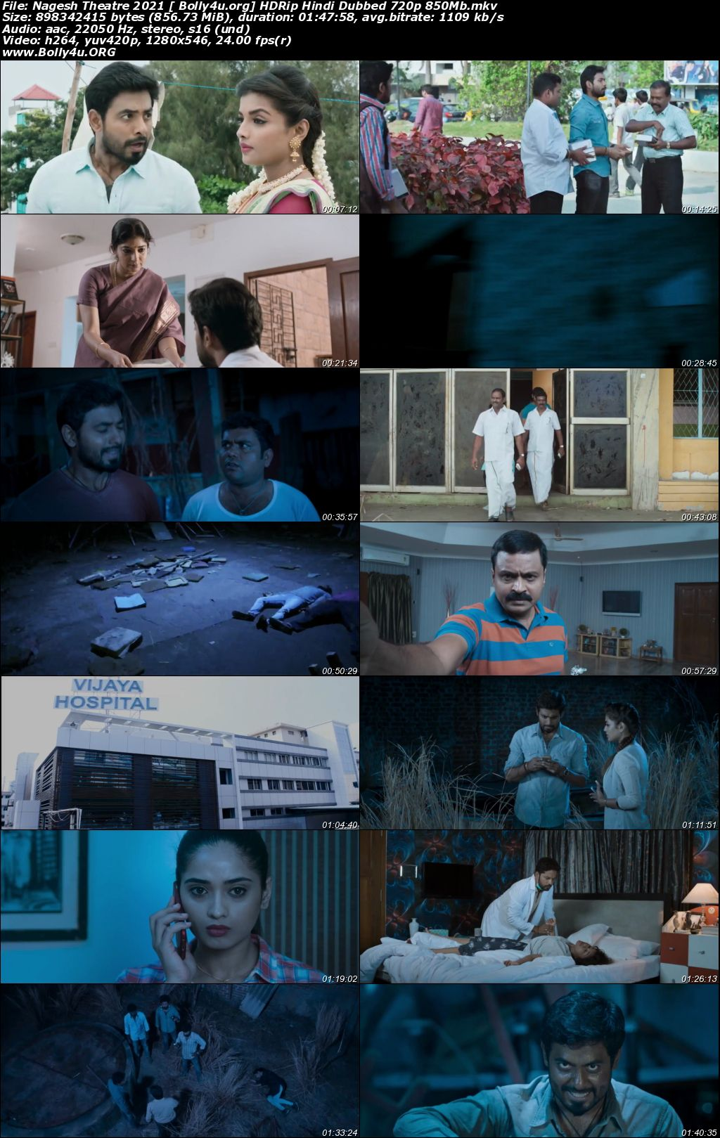 Nagesh Theatre 2021 HDRip 350MB Hindi Dubbed 480p Download
