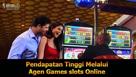 Pendapatan Tinggi Melalui Agen Games slots Online