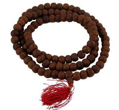rosario, budista, mala, bisutería, espiritual, manualidades mágicas