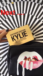kylie jenner cosmetics birthday line limited edition bag mini mattes