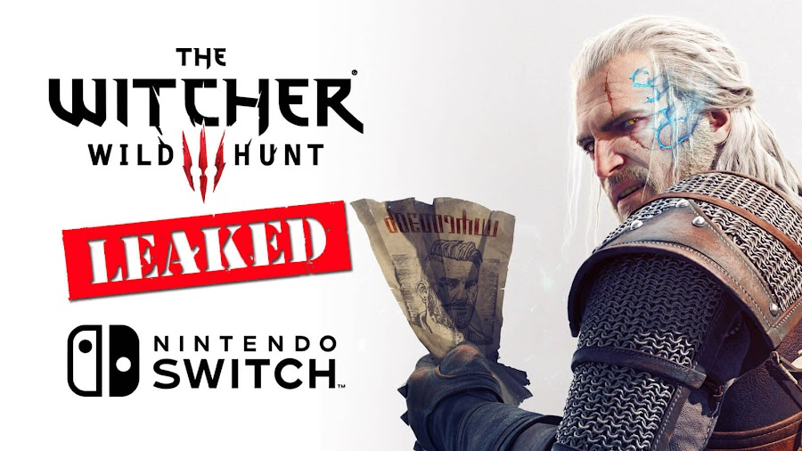 witcher 3 nintendo switch port leak cd projekt red