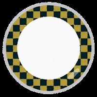 回転寿司の皿のイラスト6