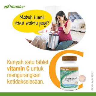 manfaat fungsi utama kegemaran ramai chewable c plus vitamin c boleh kunyah shaklee