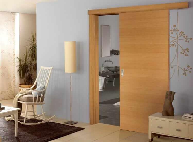Functional%2B%2526%2BStylish%2BSliding%2BRolling%2BDividers%2BWood%2BDoors%2B%252823%2529 30 Practical & Fashionable Sliding Rolling Dividers Wooden Doorways Interior