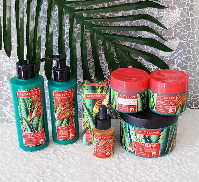 Aloesove żel myjący do twarzy