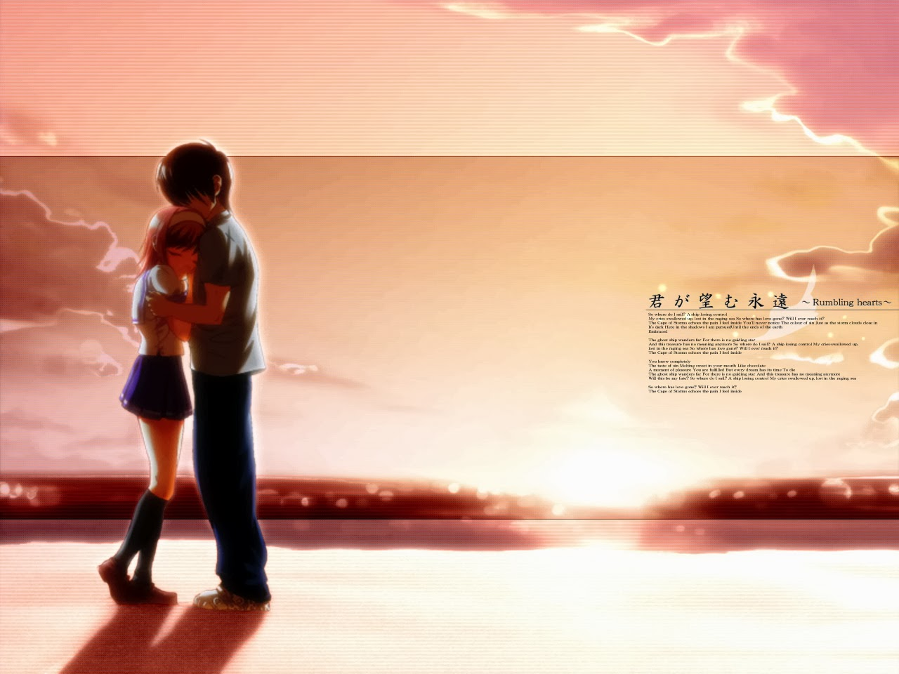 Download Kimi ga Nozomu Eien Subtitle Indonesia 1-14 (COMPLETE)