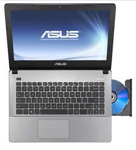 ASUS X455LA-WX401D, Laptop dengan Processor Core i3, RAM 2GB dan HDD 500 GB