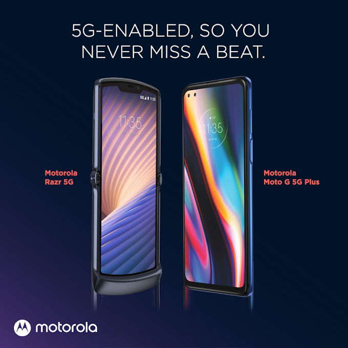 Motorola razr 5G and moto g 5G plus launched in PH