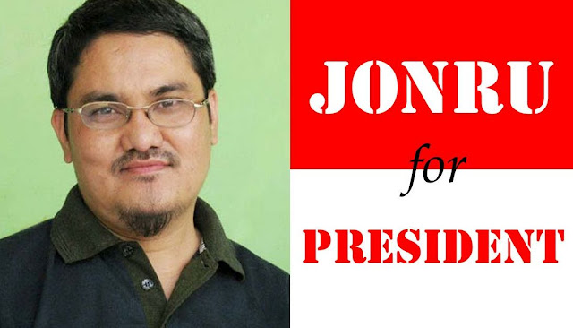 Gambar Jonru Ginting for President