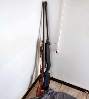 Roncador: Menor é apreendido com armas furtadas