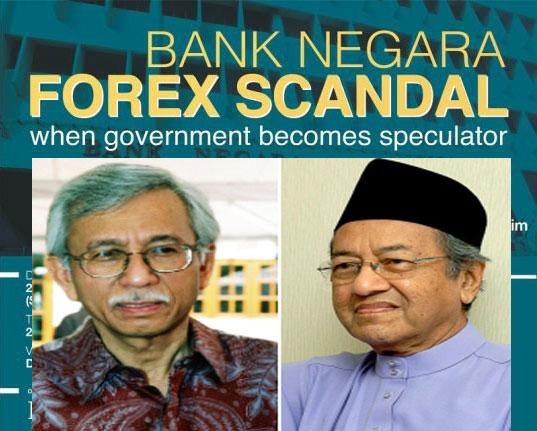 Bank negara forex
