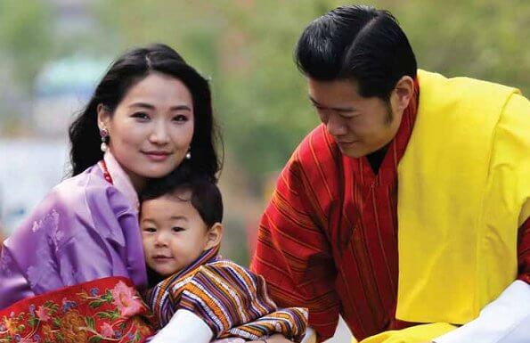 The second child of King Jigme Khesar Namgyel Wangchuck and Queen Jetsun Pema of Bhutan was born