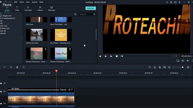 دورة إحتراف وشرح Filmora 9 كيفية عمل مقدمة فيديو إحترافية filmora free intro