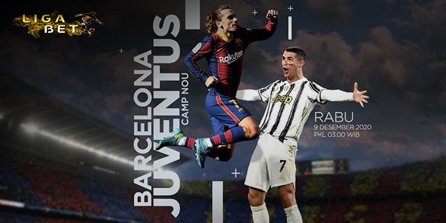 PREDIKSI BARCELONA VS JUVENTUS RABU 9 DESEMBER 2020