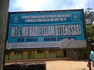 MTS Terbaik di Kecamatan Jabung Kab Lampung Timur
