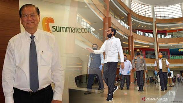 Mengapa Jokowi ke Summarecon Mall Bekasi? Tahukah Siapa Pemiliknya?