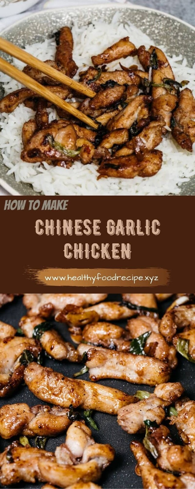 CHINESE GARLIC CHICKEN