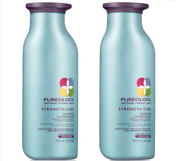8- Pureology Strength Cure Strengthening Shampoo