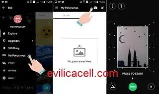 Cara Membuat Foto 360 FB di Android