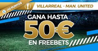 Paston promo Villarreal vs United 26-5-2021